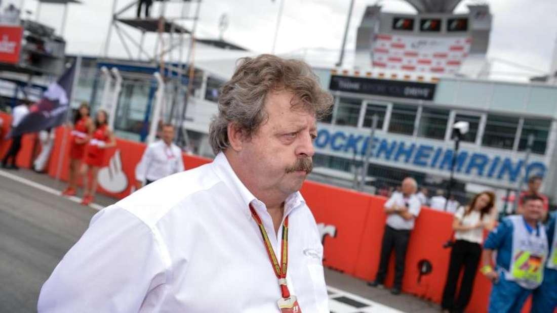 Georg Seiler hofft auf eine positive Zukunft für den Formel-1-Sport in Deutschland. Foto: David Ebener