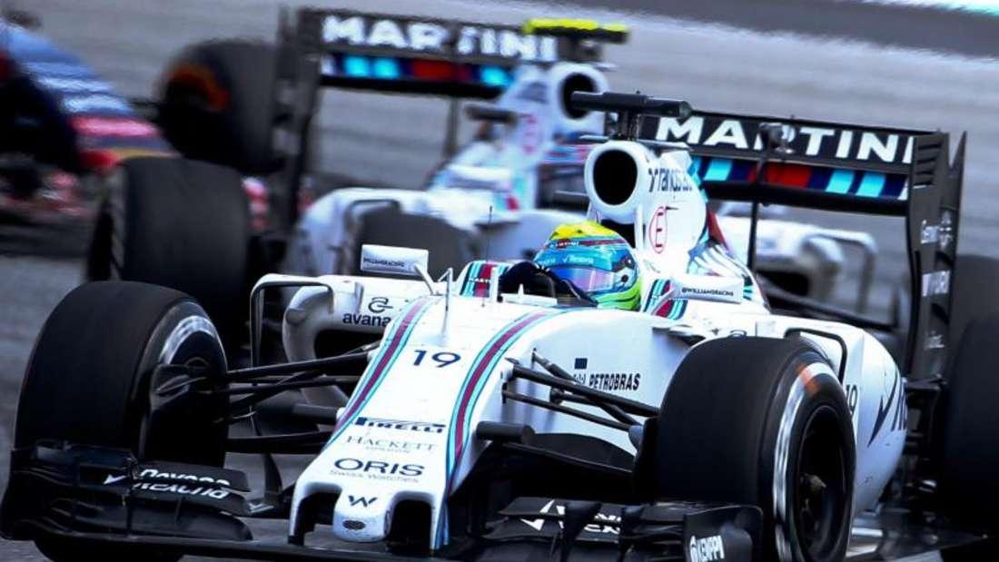 Felipe Massa und Valtteri Bottas kommen Ferrari immer näher. Foto: Diego Azubel