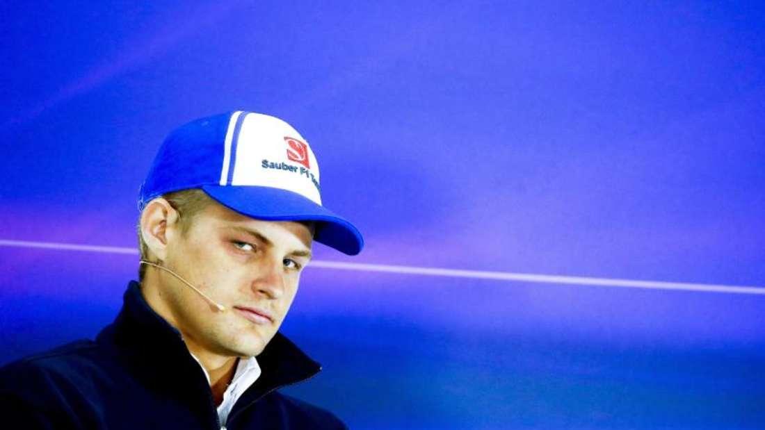 Marcus Ericsson wird auch in der kommenden Saison im Sauber-Cockpit sitzen. Diego Azubel Foto: Diego Azubel