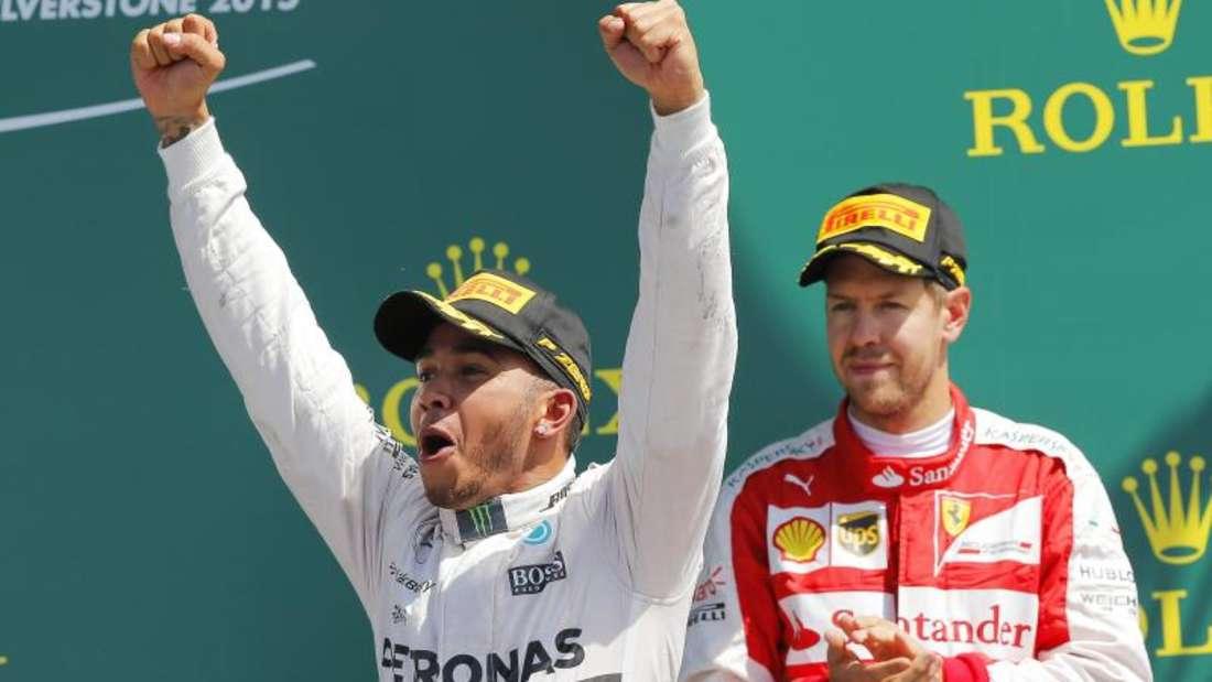 Lewis Hamilton und Sebastian Vettel sind aktuell die beiden Fahrer mit den meisten Pole Positions. Foto: Valdrin Xhemaj