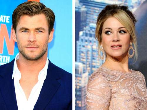 Chris Hemsworth begeistert Christina Applegate