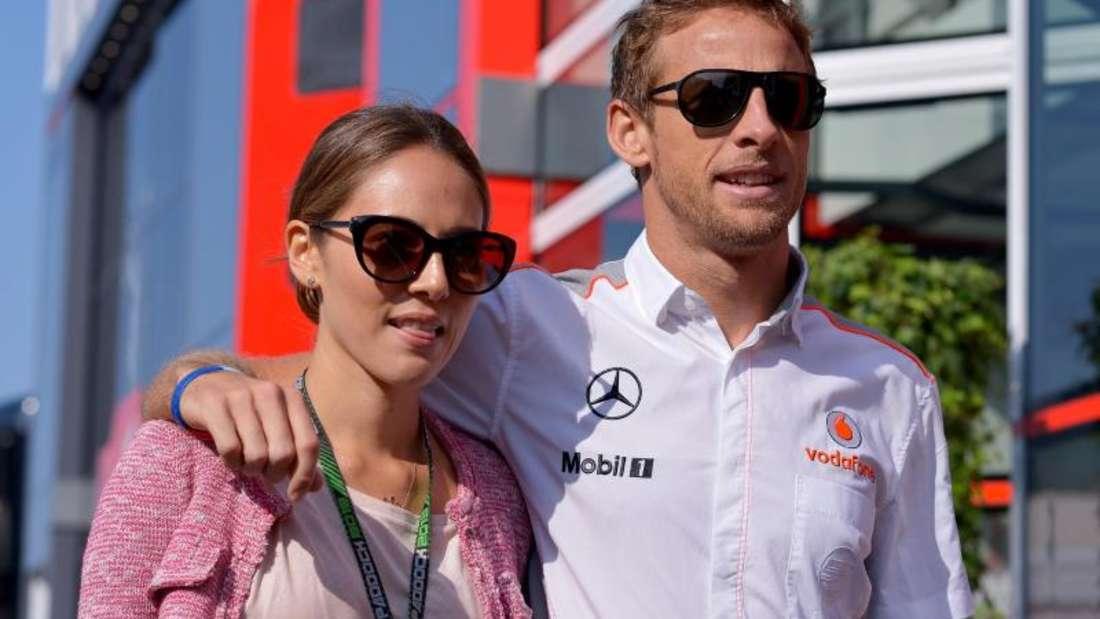 Jenson Button und seine Frau Jessica wurden ausgeraubt. Foto: David Ebener