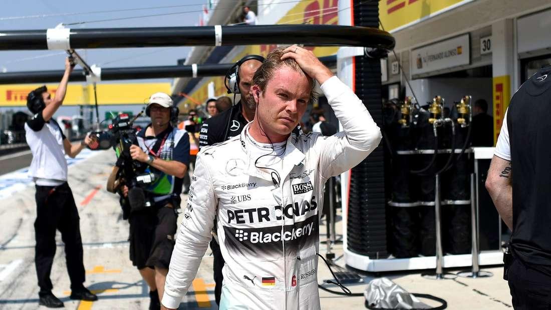 Nico Rosberg, Formel 1
