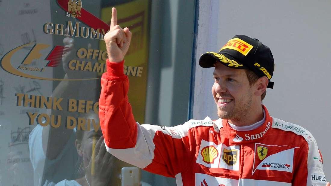 Sebastian Vettel, Formel 1, Ferrari