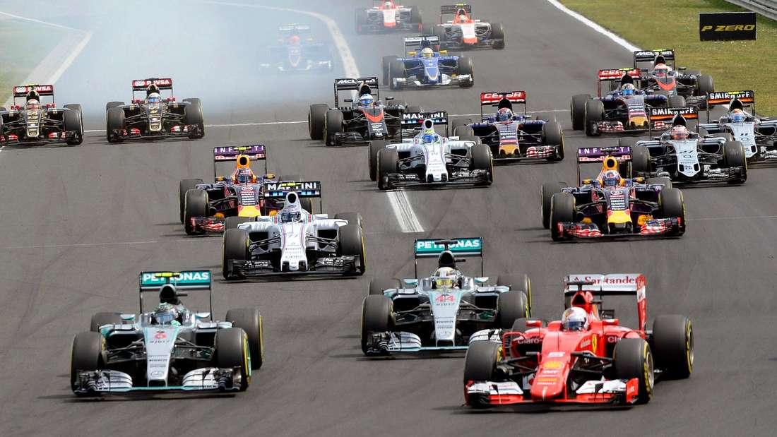 Formel 1 Start Hilfe Technik