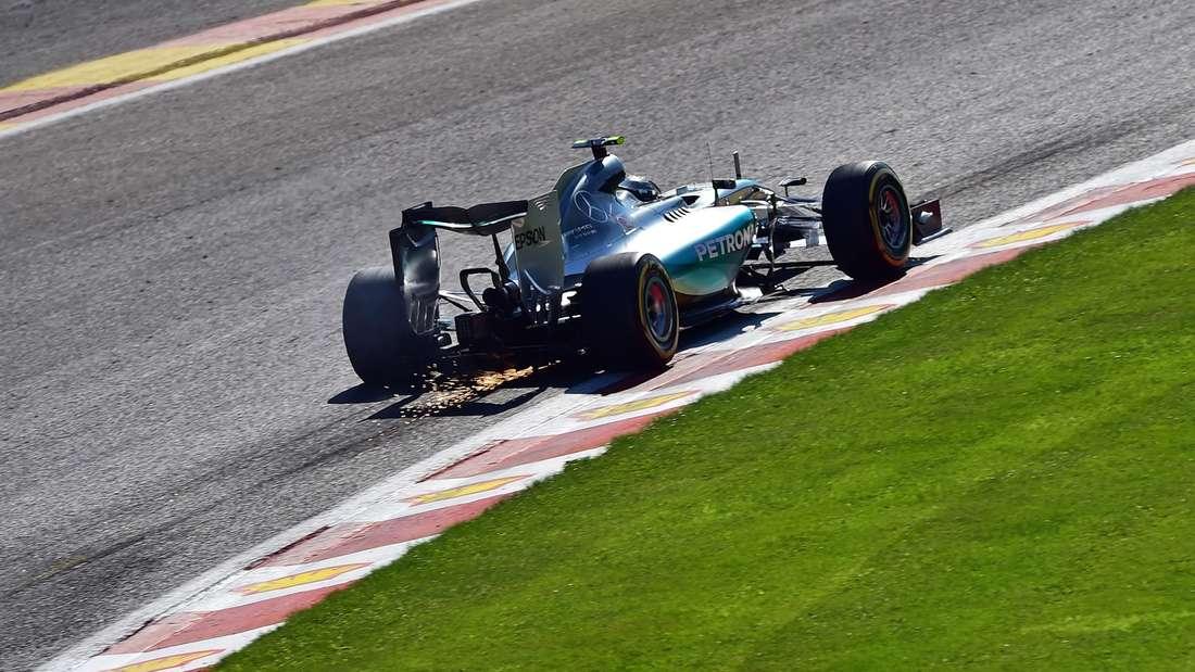 Formel 1 Spa Hamilton Vettel Rosberg