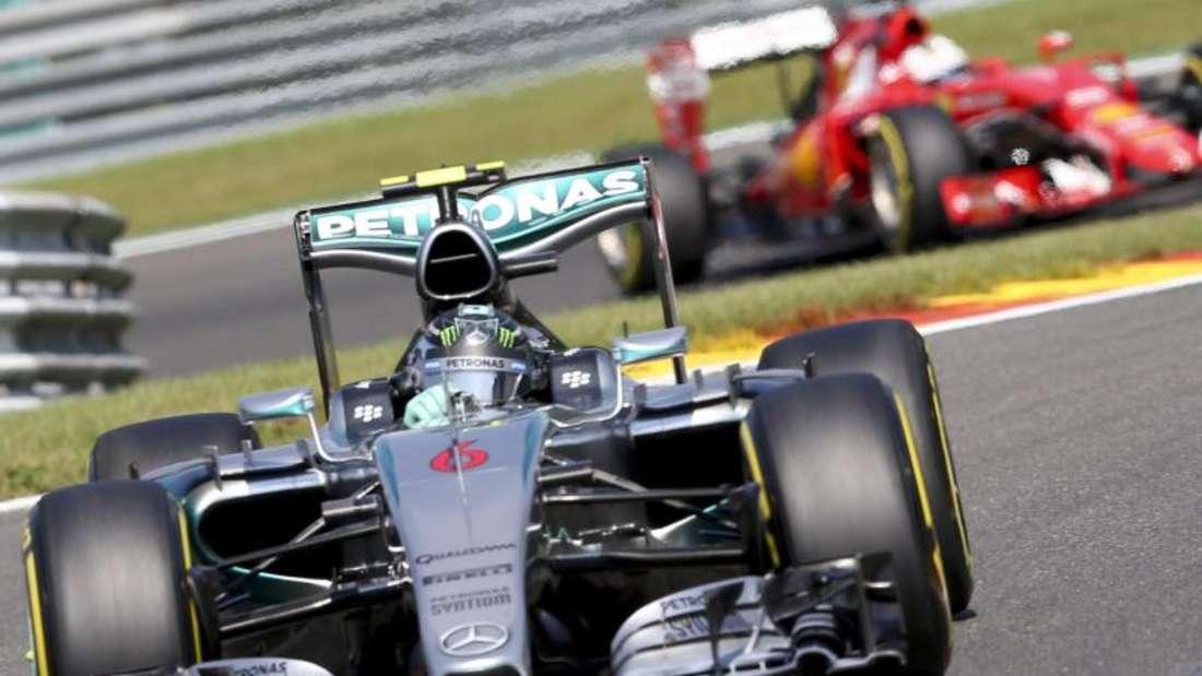 Nico Rosberg startet in Spa-Francorchamps von Platz zwei. Foto: Olivier Hoslet