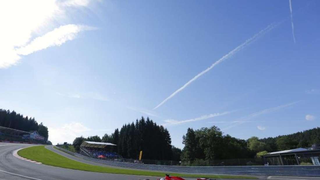 Ferrari-Pilot Sebastian Vettel musste sich mit Stratplatz acht begnügen. Foto: Valdrin Xhemaj