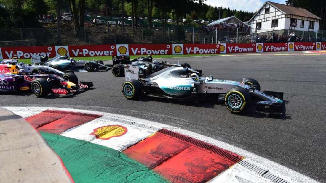 Lewis Hamilton holte sich inBelgien seinen sechsten Saisonsieg. Foto: Andrej Isakovic