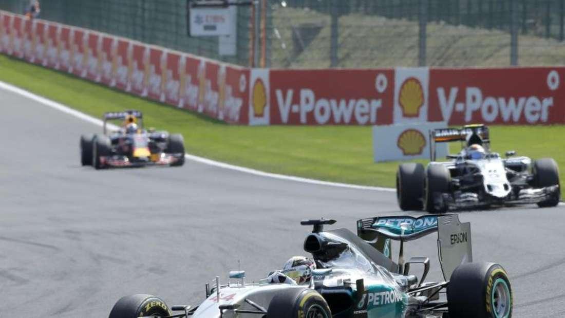 Lewis Hamilton fuhr auch in Belgien allen davon. Foto: Valdrin Xhemaj