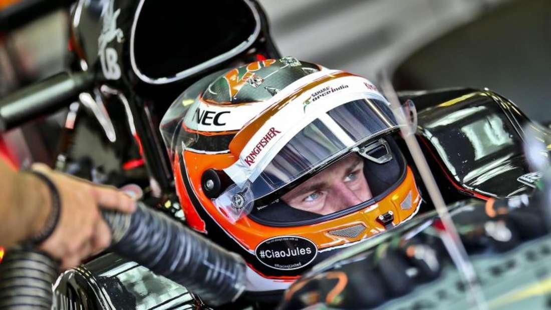 Nico Hülkenberg wird weiter im Force-India-Cockpit sitzen. Foto: Srdjan Suki