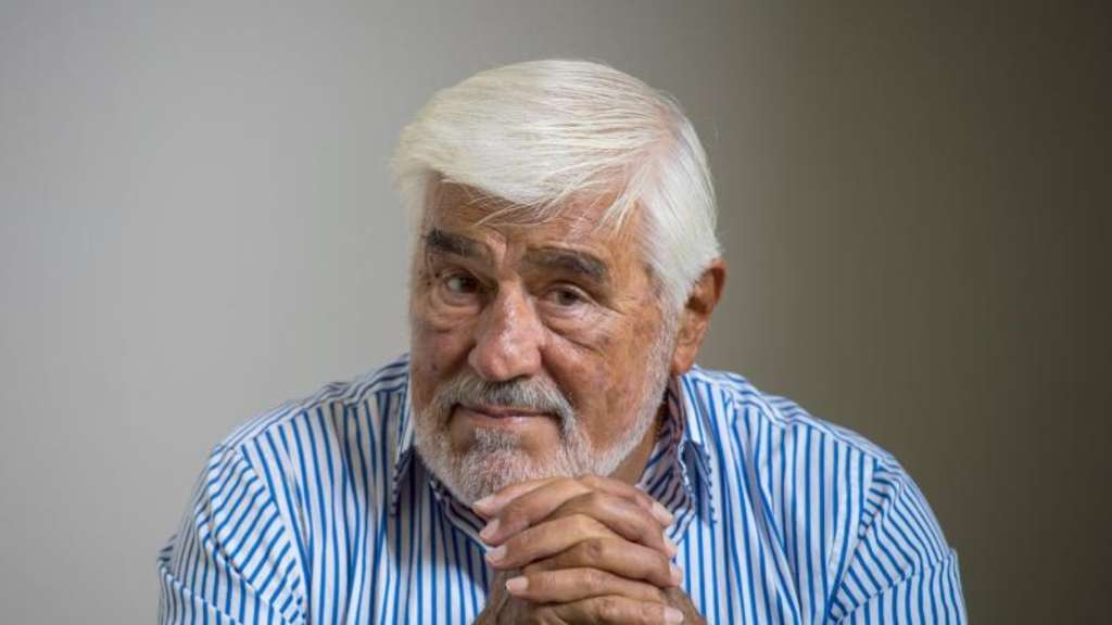 Mario Adorf wird am 8. September 85. Foto: Andreas Arnold