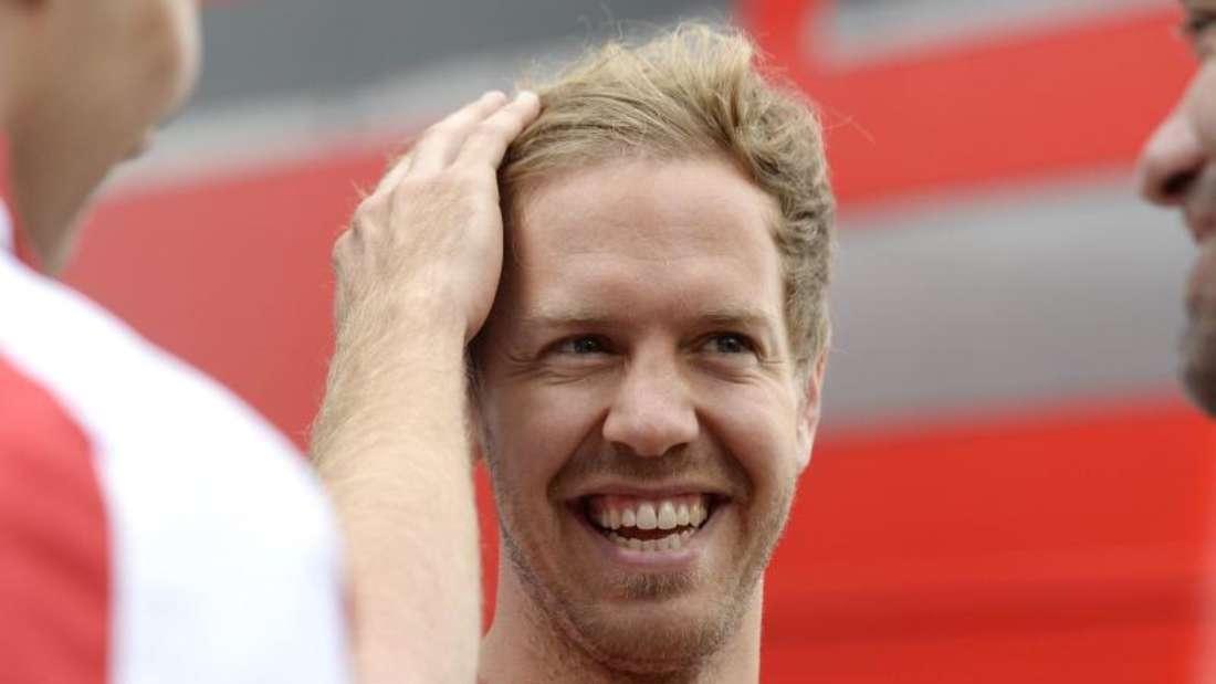 Sebastian Vettel hat durchaus geringe Chancen auf einen Sieg in Monza. Foto:Tamas Koacs