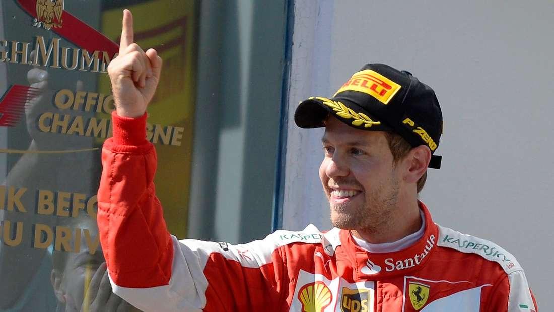 Sebastian Vettel, Formel-1, Ferrari