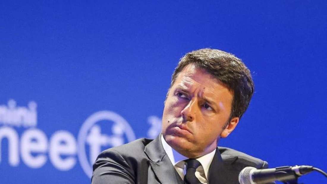Italiens Regierungschef Matteo Renzi kämpft um Monza. Foto: Pasquale Bove