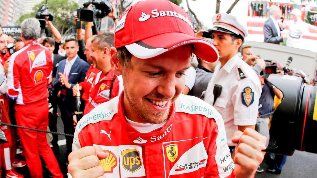 Sebastian Vettel, Monza, Ferrari, Formel 1, Großer Preis von Italien