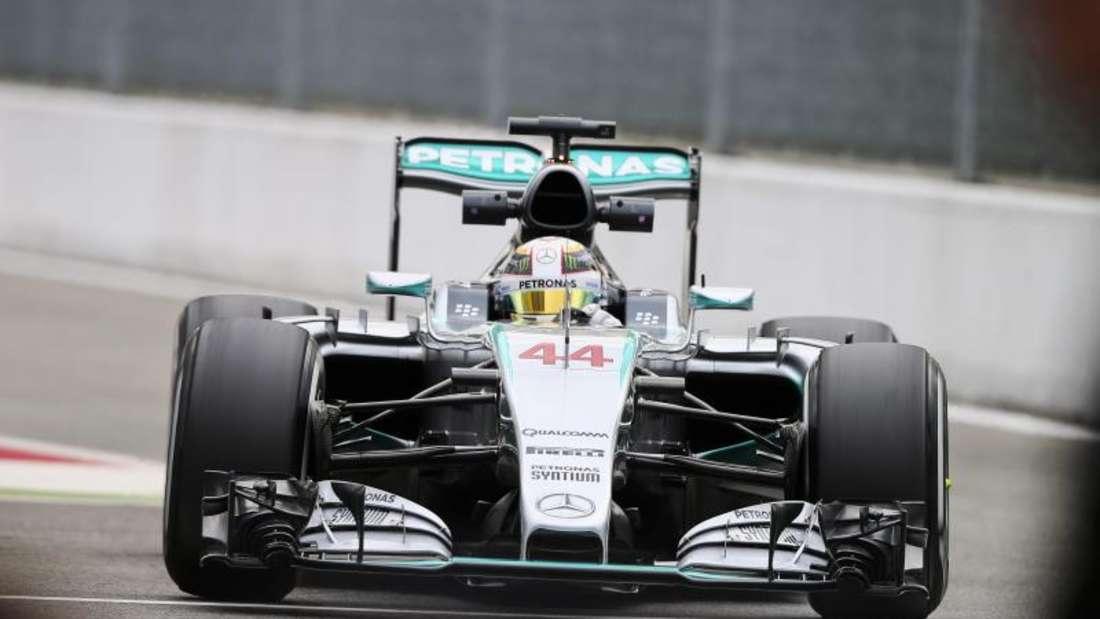 War auch im dritten Training von Monza der Schnellste: Lewis Hamilton. Foto: Srdjan Suki