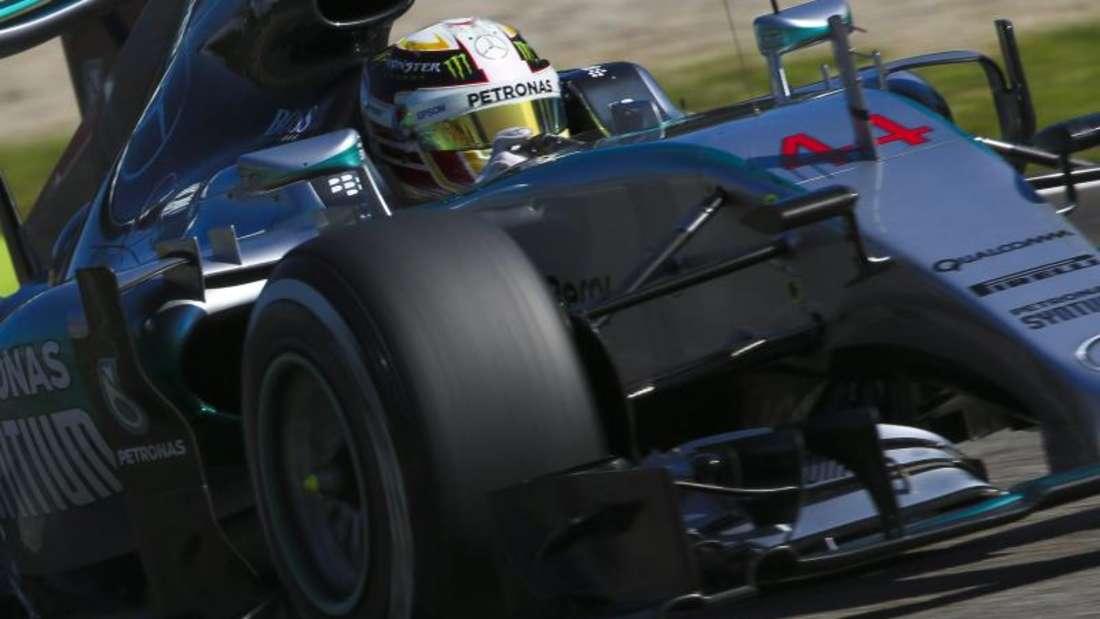 Lewis Hamilton dominierte in Monza die Trainings und die Qualifikation. Foto: Srdjan Suki