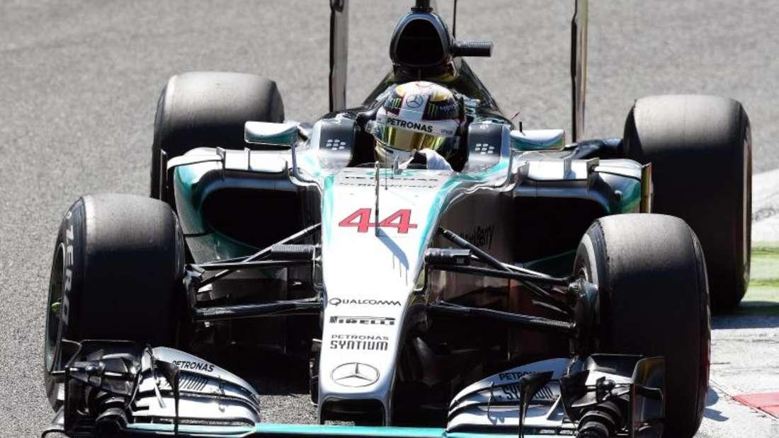 Mercedes ist nach dem Großen Preis von Italien ins Zentrum einer Ermittlung der Rennkommissare geraten. Foto: Daniel Dal Zennaro