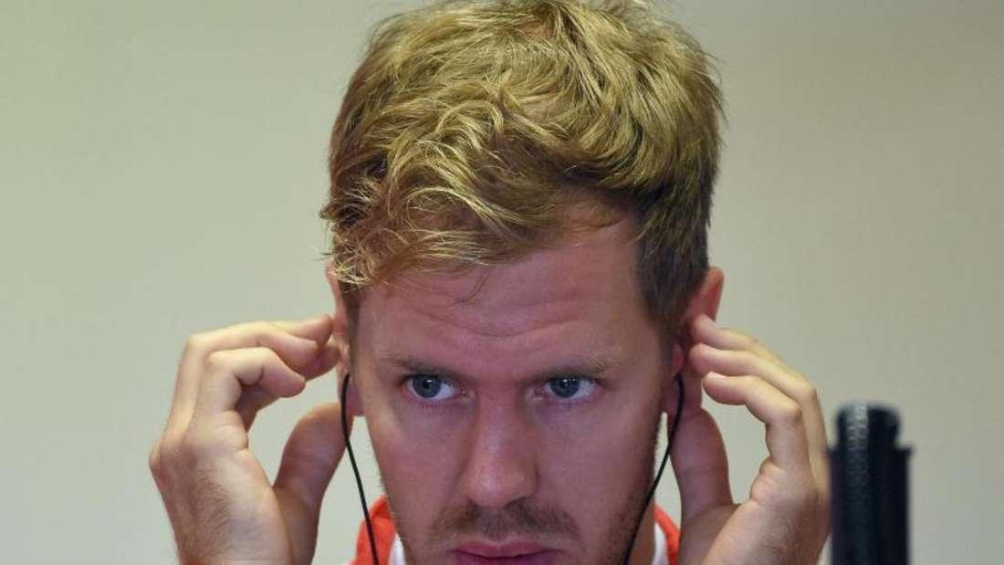 Der zweite Platz in Monza auf Ferreri ist für Sebastian Vettel von großer emotionaler Bedeutung. Foto: Daniel Dal Zennaro
