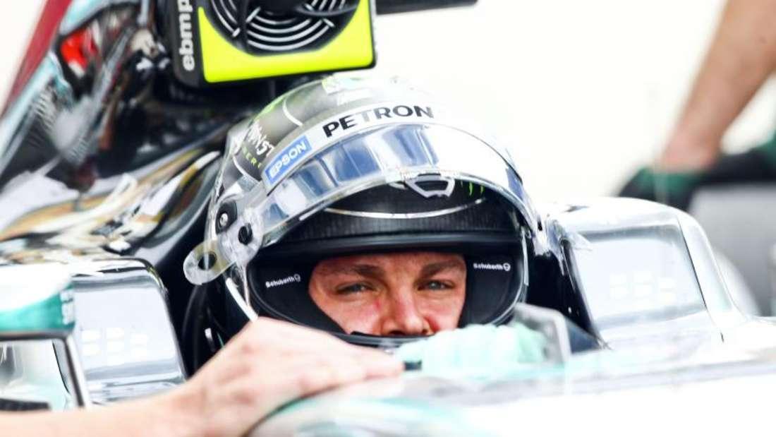 Nico Rosberg hofft auf ein Formel-1-Wunder. Foto:Srdjan Suki