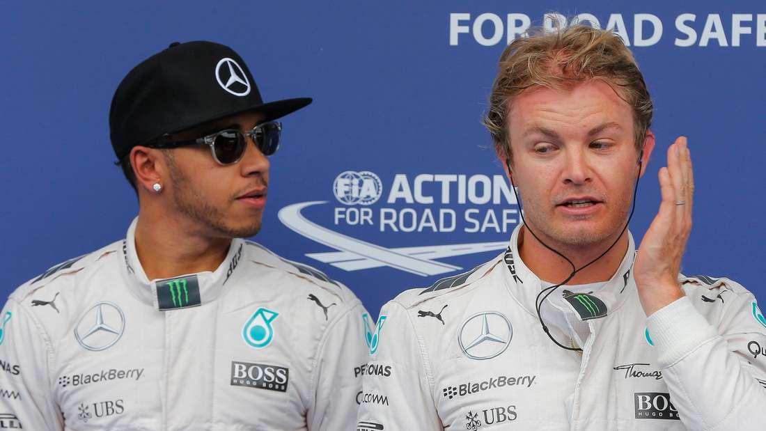 Formel 1, Nico Rosberg, Lewis Hamilton, Großer Preis von Singapur