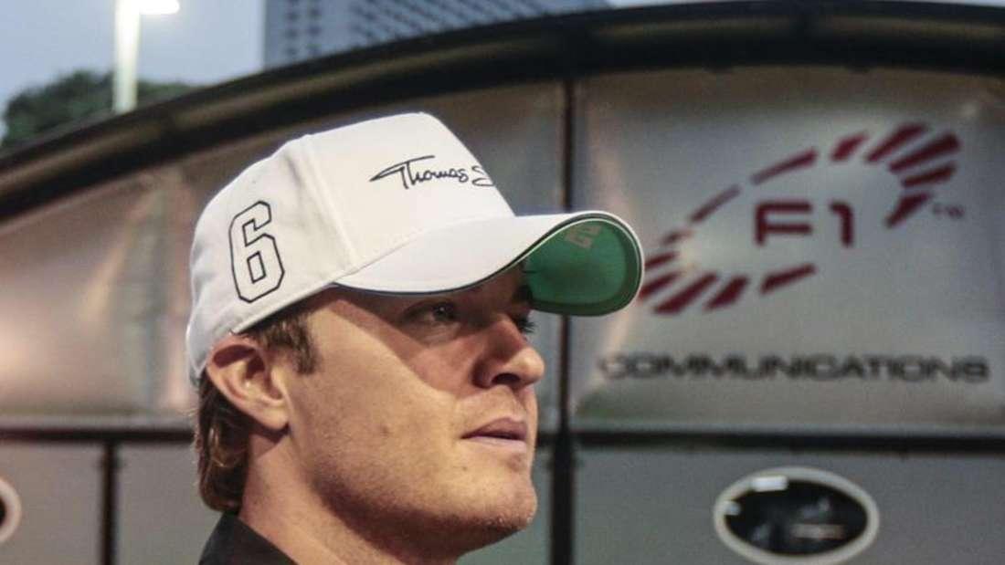 Nico Rosberg muss mit neuem Motor antreten. Foto: Diego Azubel