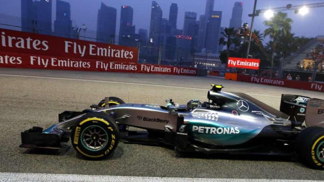 Schnellster beim ersten Training: Nico Rosberg. Foto: Srdjan Suki