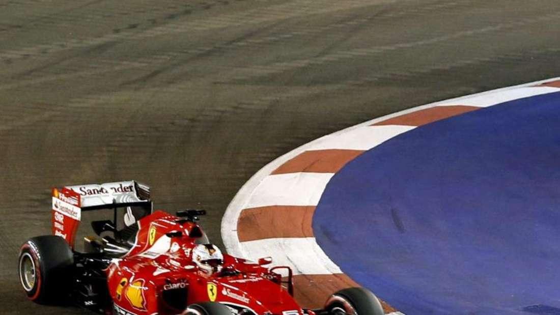 Sebastian Vettel fuhr in Singapur zu seinem 42. Grand-Prix-Erfolg. Foto: Rungroj Yongrit