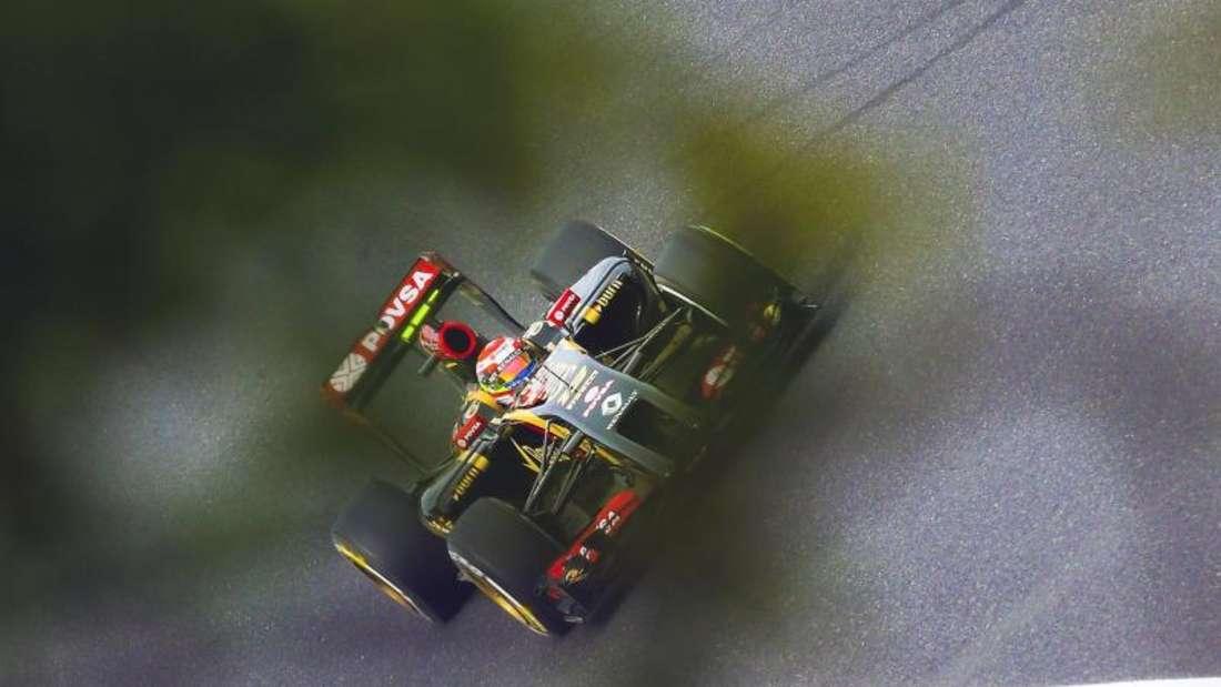 Das Team Lotus ist finanziell in Schieflage geraten. Foto:Srdjan Suki