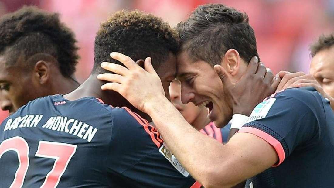 Die Bayern feierten in Mainz den siebten Sieg im siebten Ligaspiel. Foto: Torsten Silz