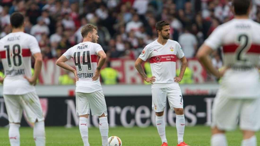 Stuttgart bleibt nach der Pleite gegen Gladbach im Tabellenkeller. Foto: Daniel Maurer