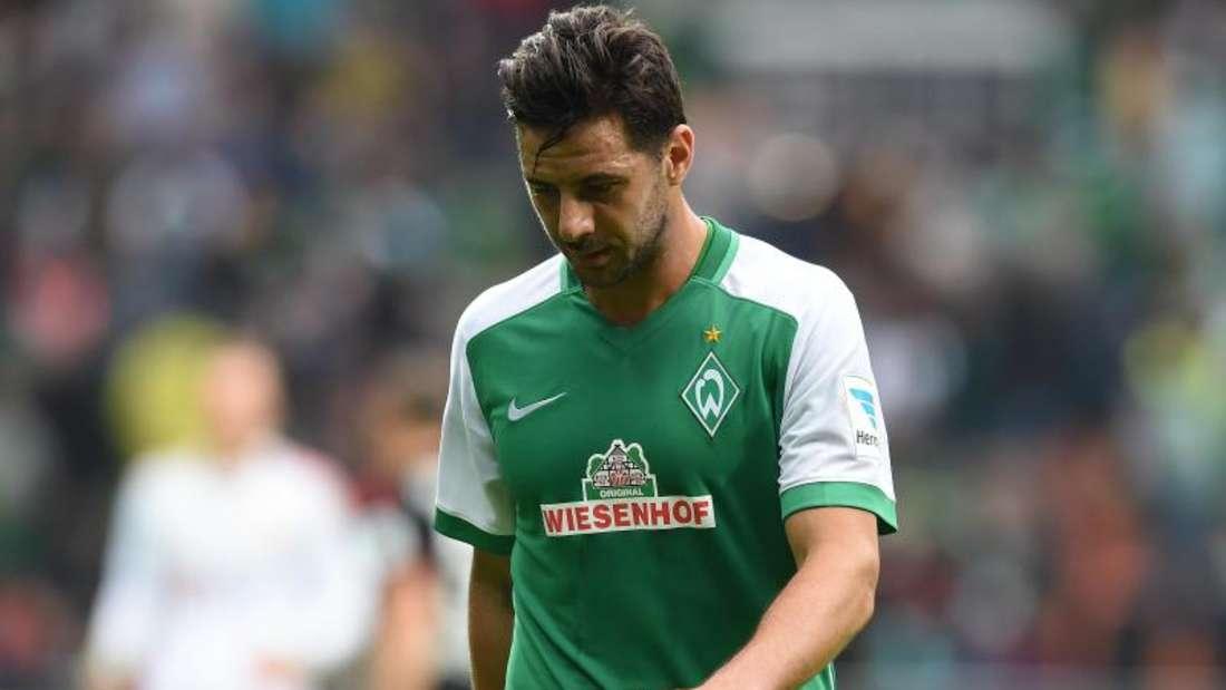 Auch Claudio Pizarro konnte die Bremer Niederlage gegen Leverkusen nicht verhindern. Foto: Carmen Jaspersen