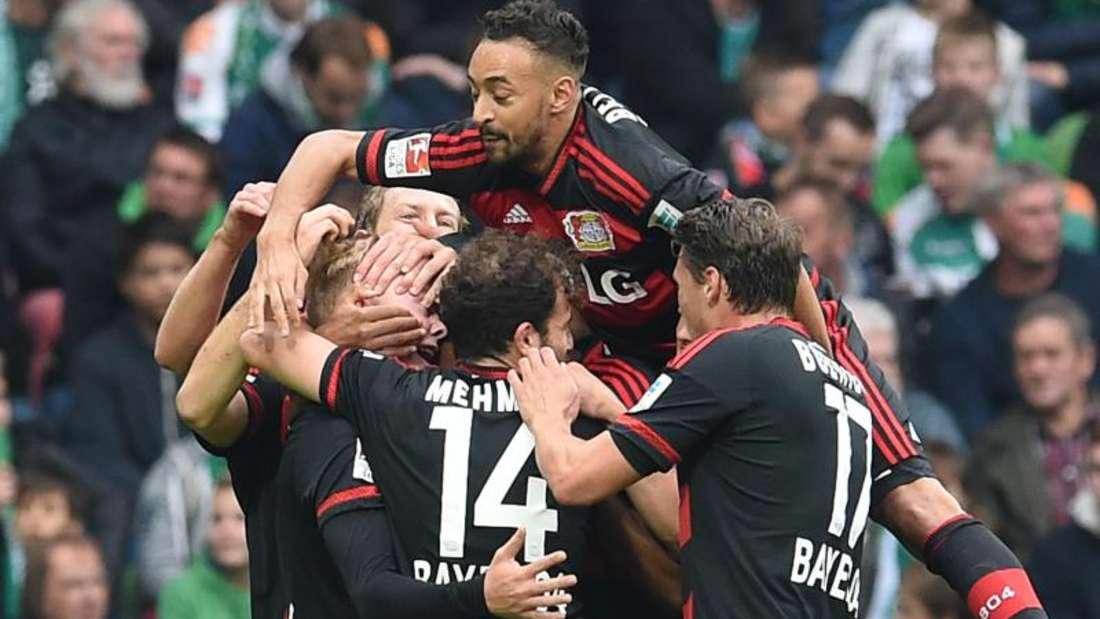 Leverkusen holte in Bremen einen klaren Auswärtssieg. Foto: Carmen Jaspersen