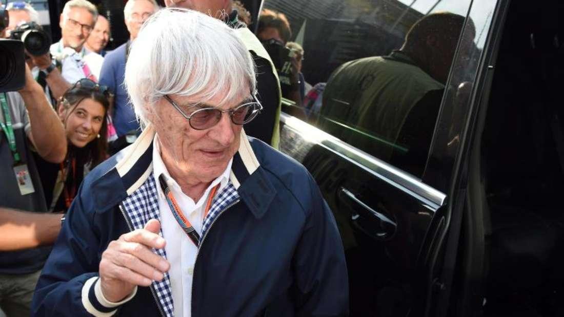 Das Geschäftsmodell von Bernie Ecclestone wird durch eine EU-Untersuchung geprüft. Foto: Daniel Dal Zennaro