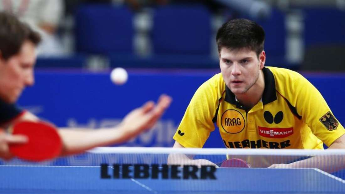 Dimitrij Ovtcharov und das DTTB-Team unterlagen gegen Österreich. Foto: Sergei Ilnitsky