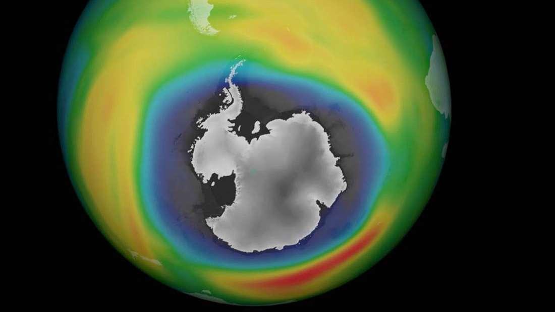 Ozonloch Antarktis