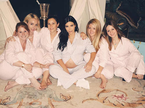 So war Kim Kardashians Babyparty - die Bilder