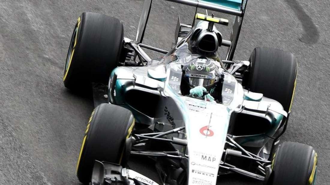 Wird Nico Rosberg seinen Platz nach dem Start diesmal besser verteidigen? Foto: Ulises Ruiz Basurto