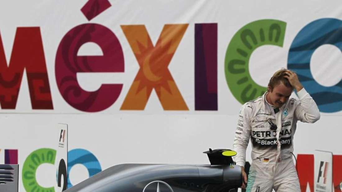 Nico Rosberg hat seinen Sieg in Mexiko vor einer großartigen Kulisse eingefahren. Foto: José Méndez