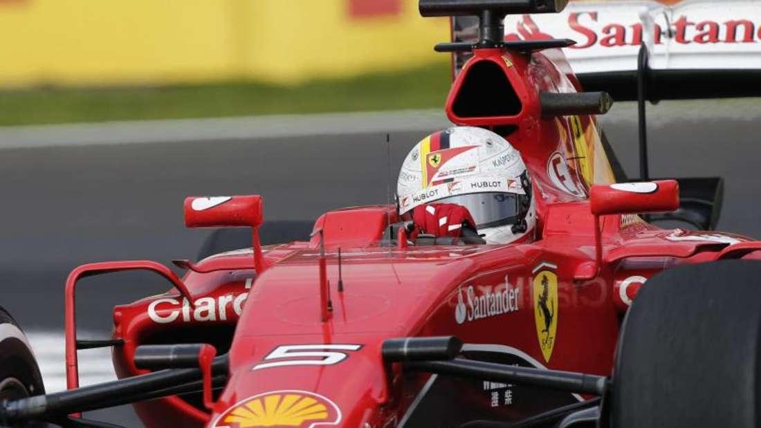 Sebastian Vettel musste das Rennen in Mexiko vorzeitig aufgeben. Foto: Jose Mendez