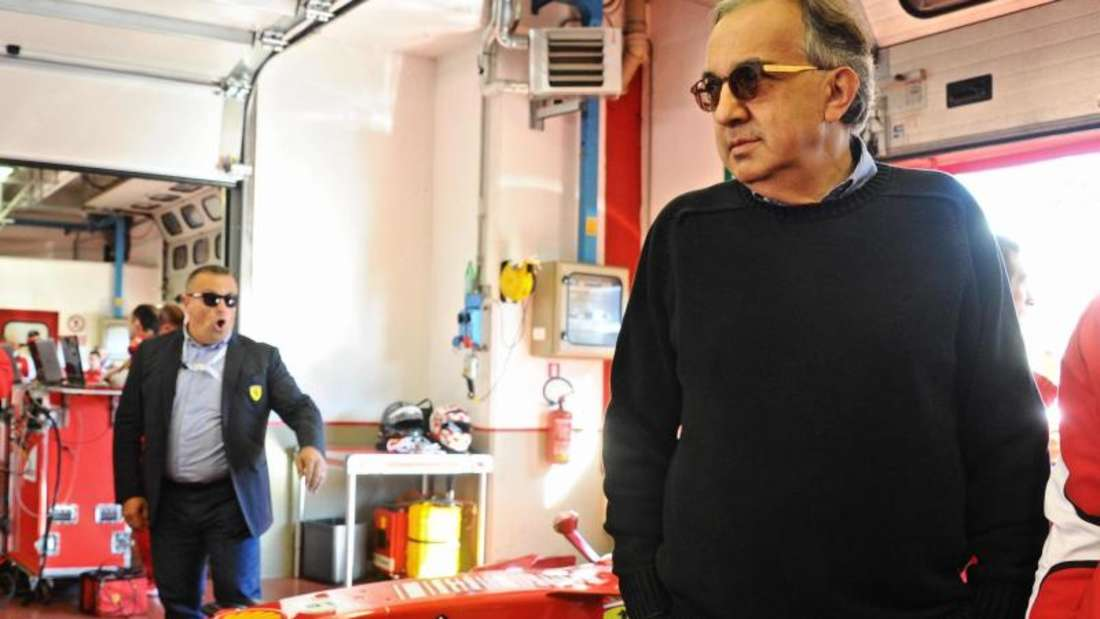 Sergio Marchionne ist der Chef von Ferrari . Foto: Maurizio Degl' Innocenti