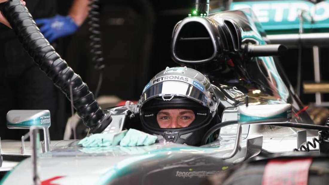 2014 holte Nico Rosberg in Brasilien den Sieg. Foto:Jose Mendez