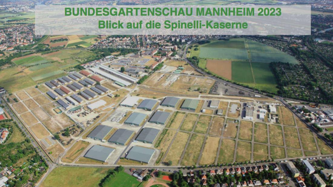 Die Präsentation zur Mannheimer BUGA23.