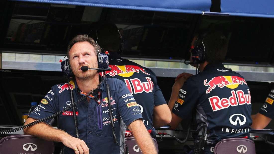Christian Horner, Red Bull, Formel 1