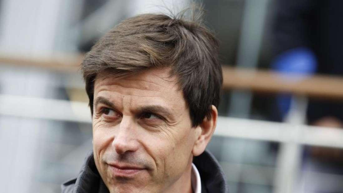 Mercedes-Motorsportchef Toto Wolff ist mit Bernie Ecclestone nicht einer Meinung. Foto: Erwin Scheriau