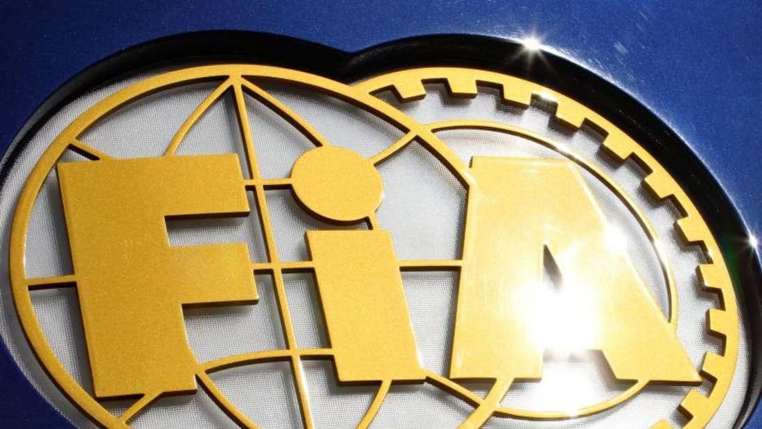 Das Logo des Automobil-Weltverbandes FIA. Foto: Jan Woitas