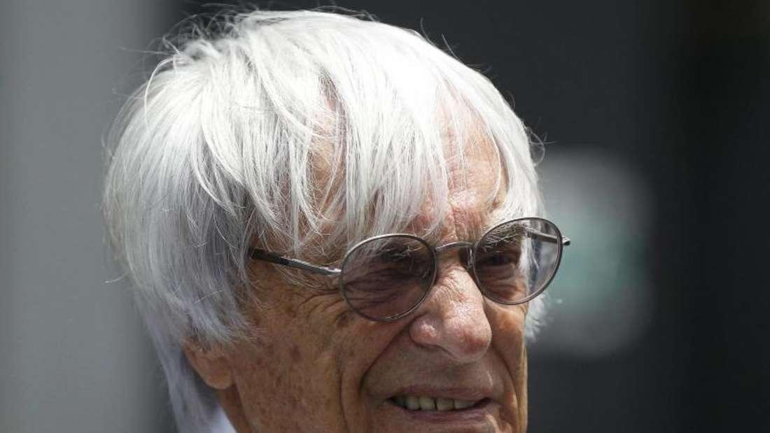 Bernie Ecclestone muss sich mit der Zukunft der Formel 1 auseinandersetzen. Foto: Fernando Bizerra Jr.