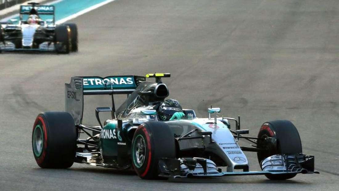 Nico Rosberg, Abu Dhabi