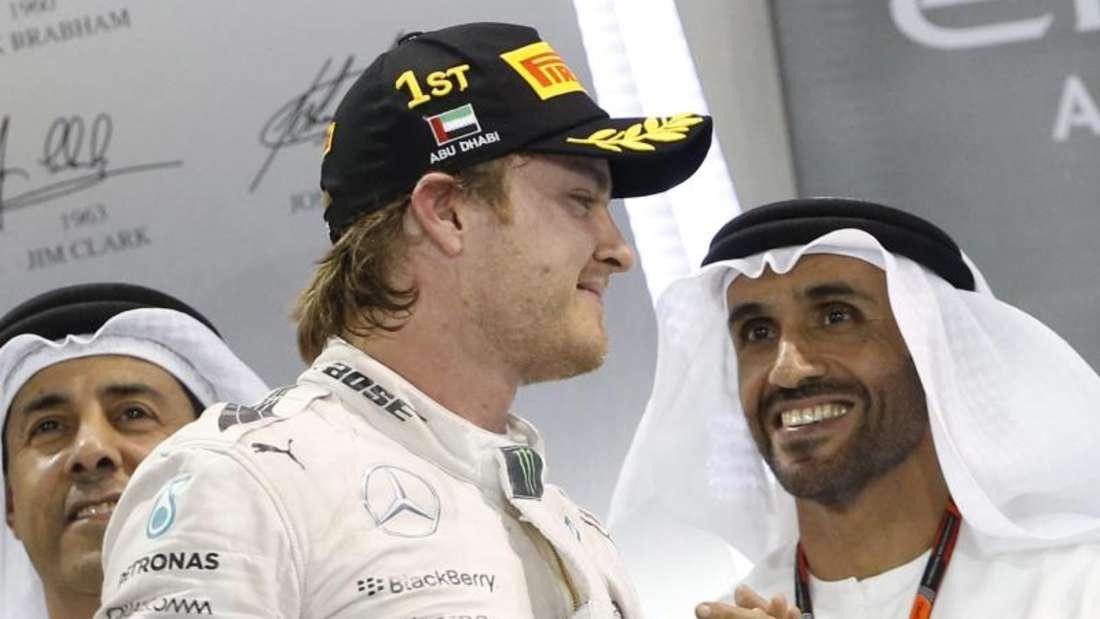 Nico Rosberg gewann den Großen Preis von Abu Dhabi. Foto: Ali Haider